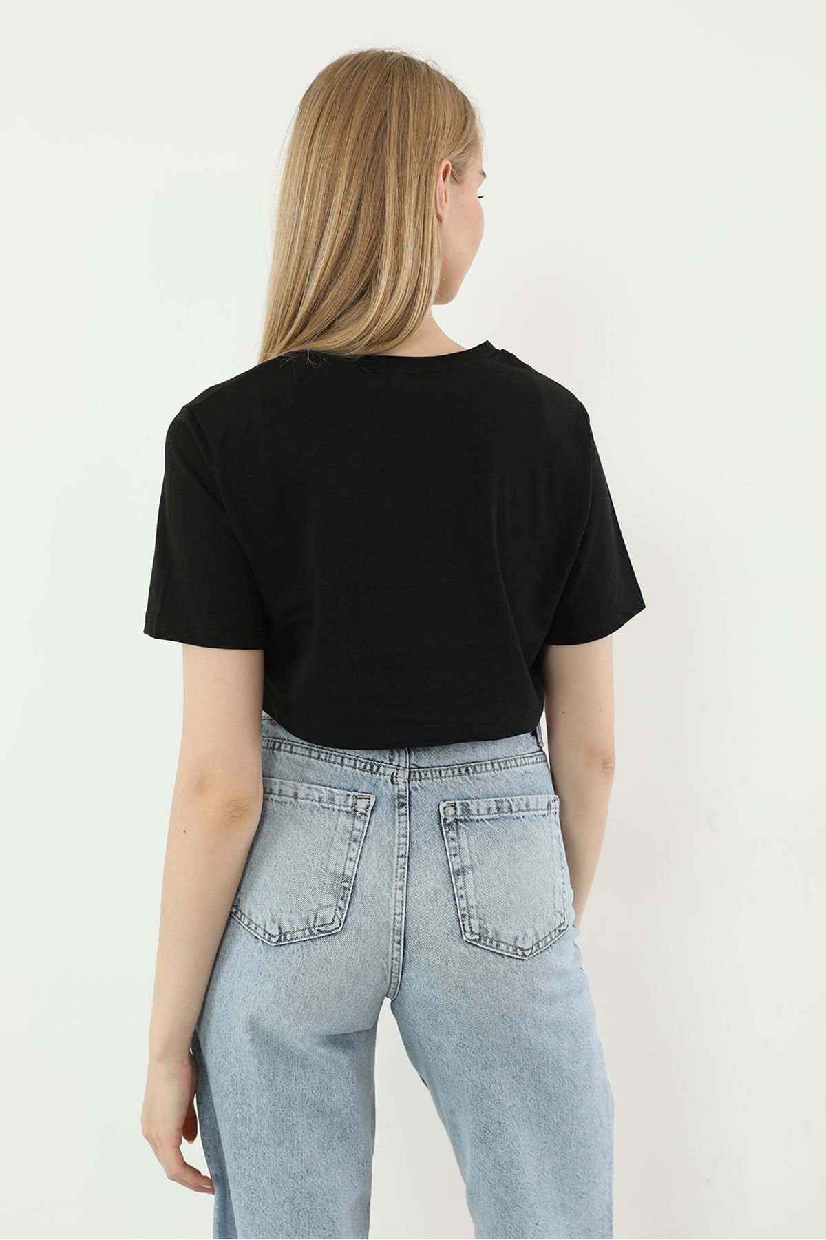 İkili Tshirt Takım-Siyah