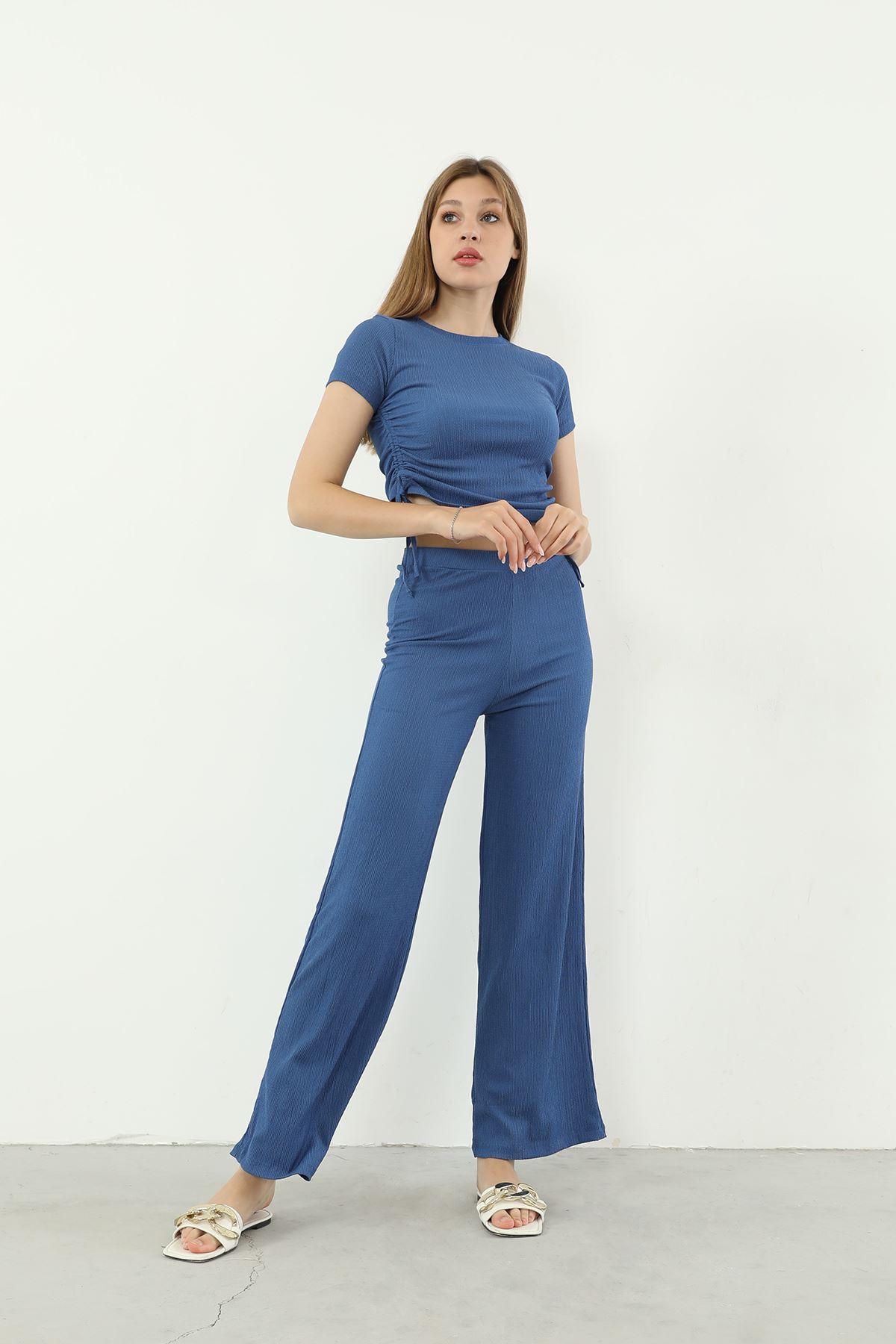 Pantolon Takım-İndigo