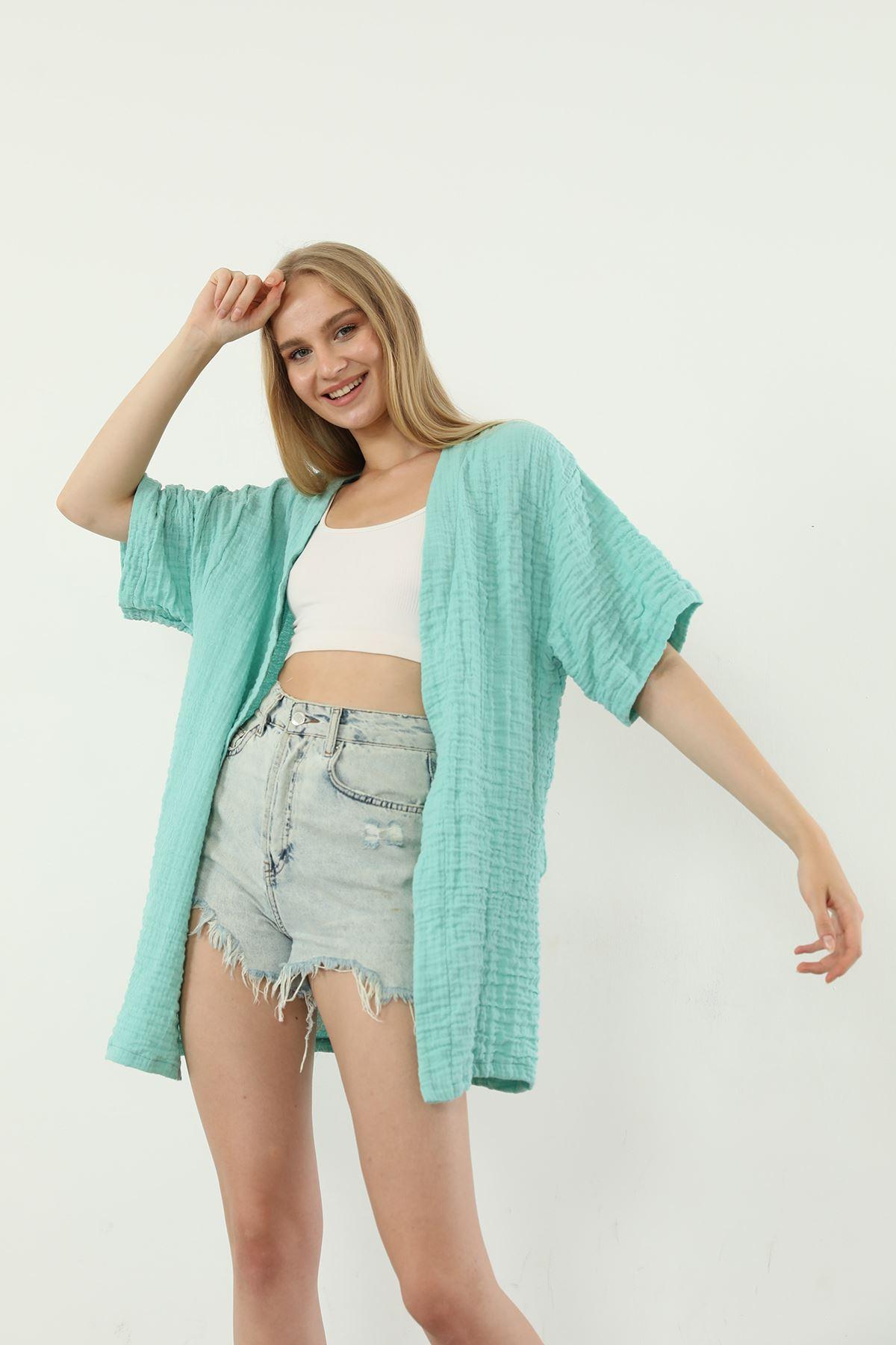 Salaş Kimono-Mint