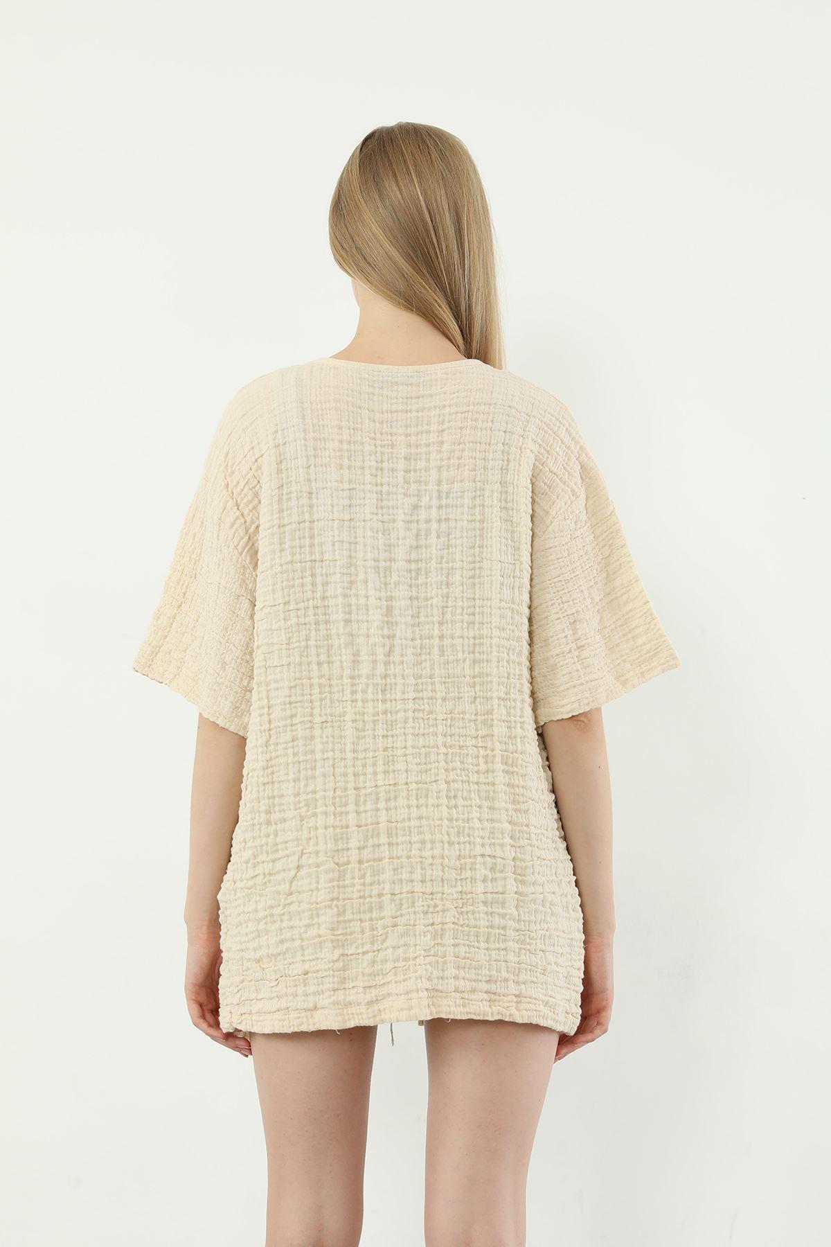 Salaş Kimono-Bej