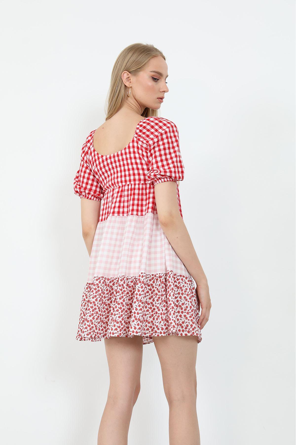 Salaş Elbise-Kırmızı