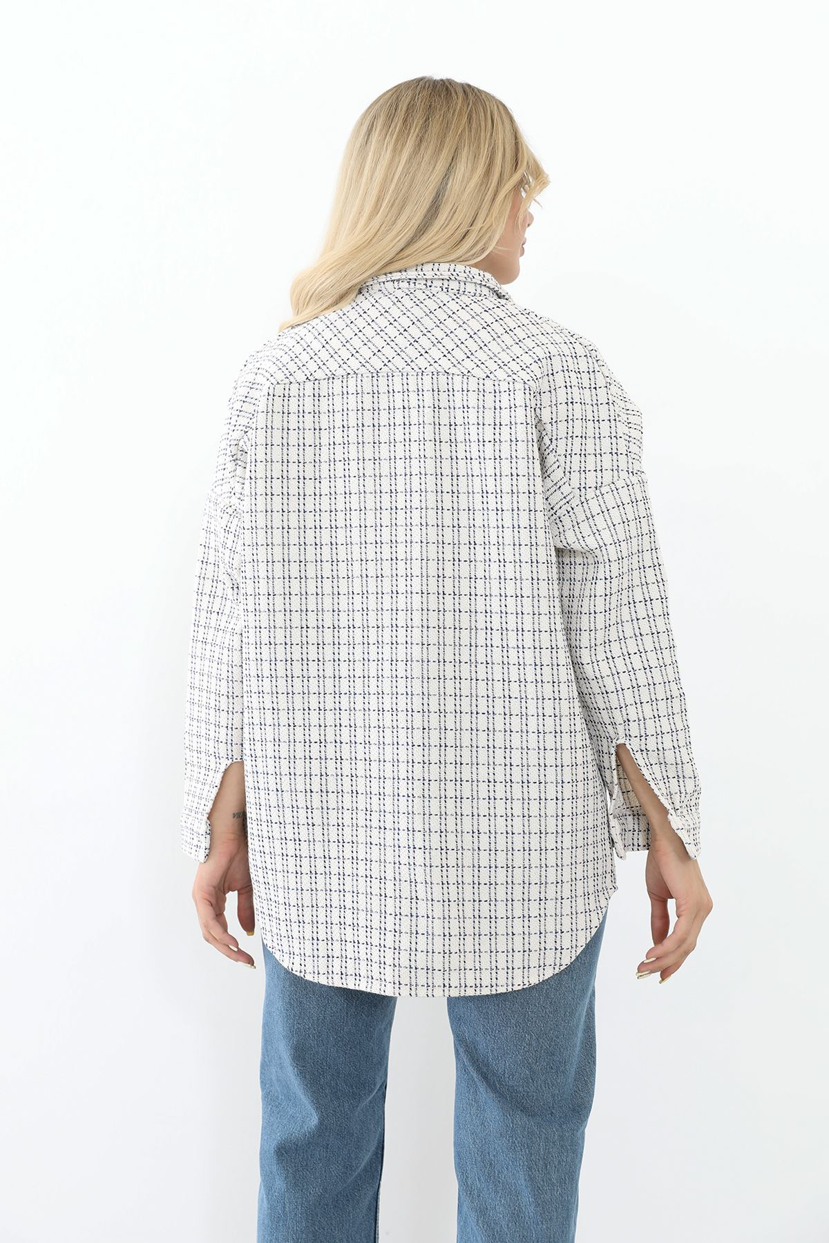 Oduncu Gömlek-Lacivert