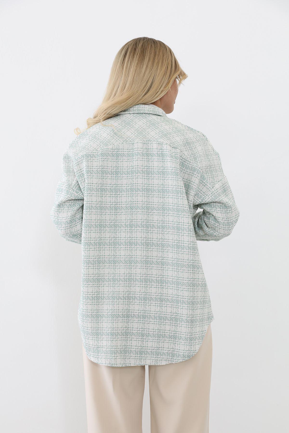 Oduncu Gömlek-Mint