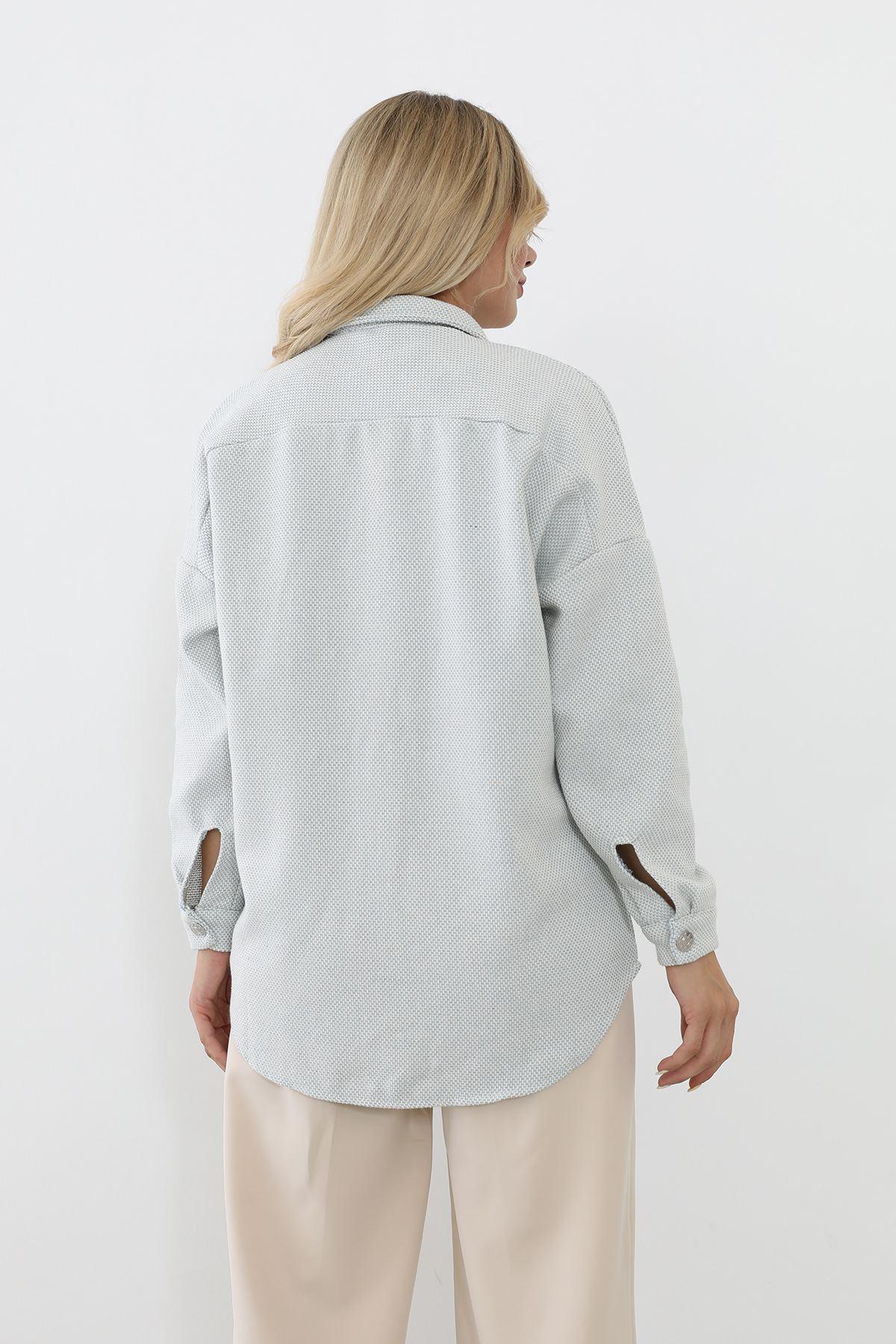 Oduncu Gömlek-Mavi