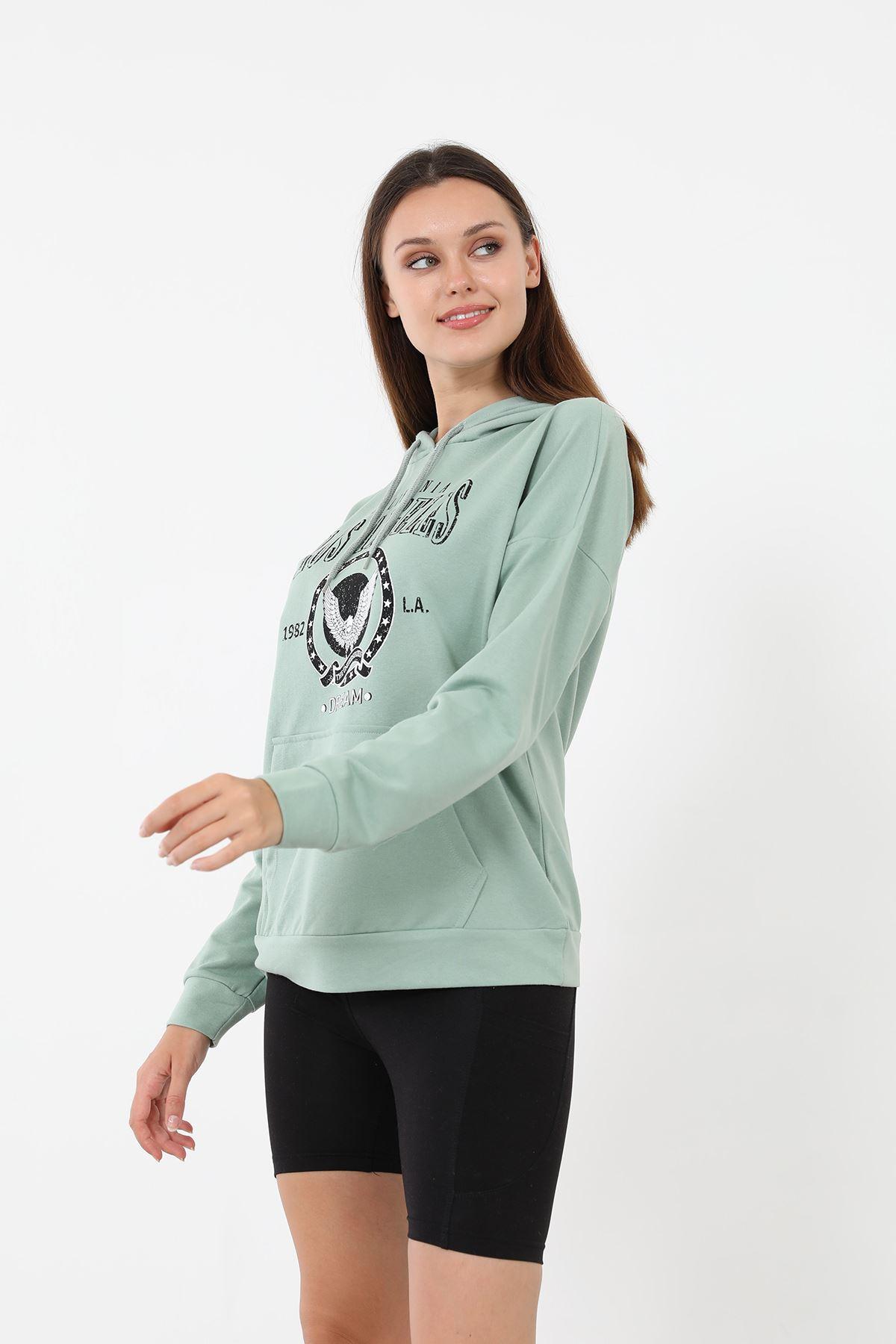 Los Angeles Sweatshirt-Mint