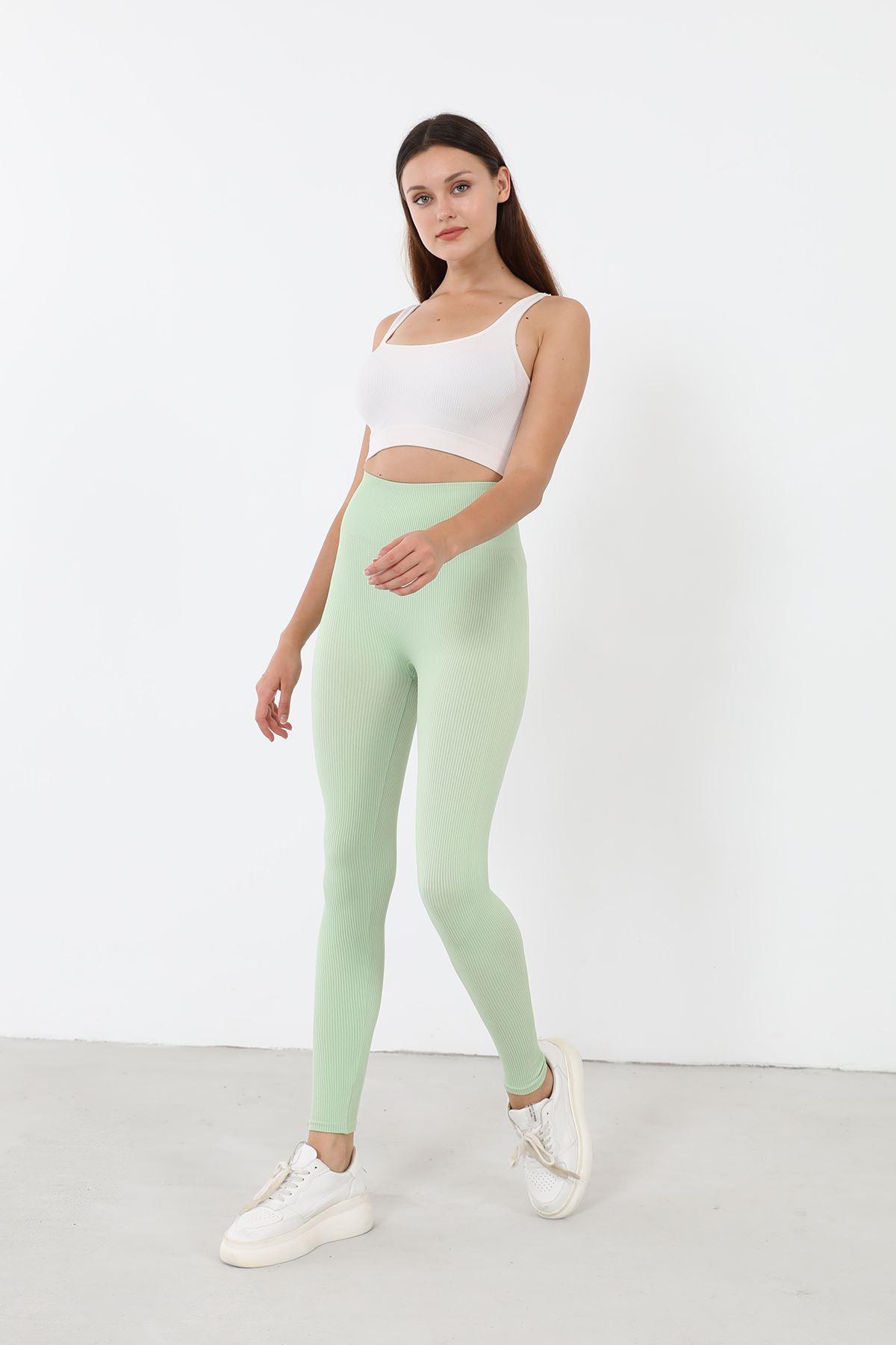 Fitilli Tayt-Fıstık Yeşili