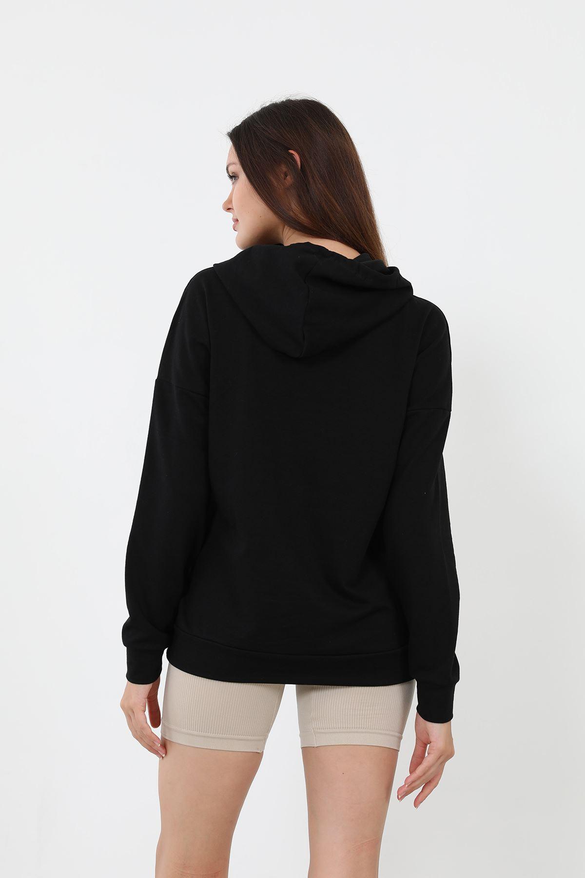 Los Angeles Sweatshirt-Siyah