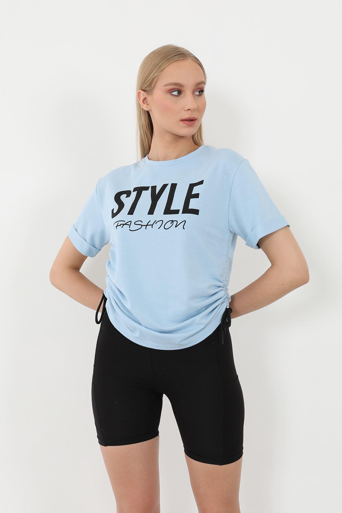 Style Baskılı Sweatshirt-Bebemavi