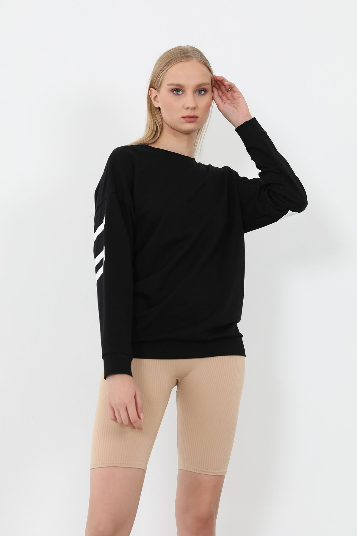 FFA Baskılı Sweatshirt-Siyah