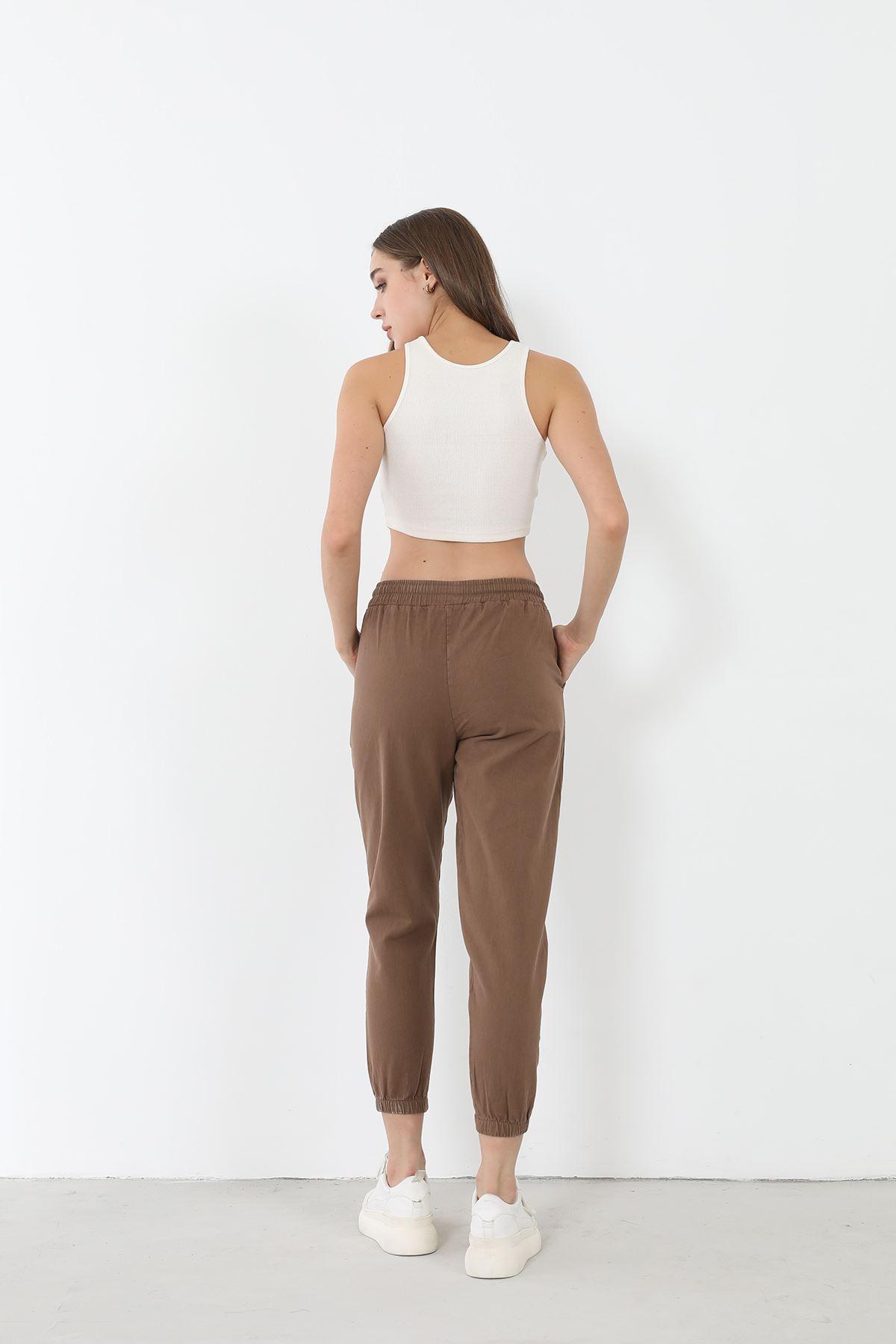Jogger Pantolon-Vizon