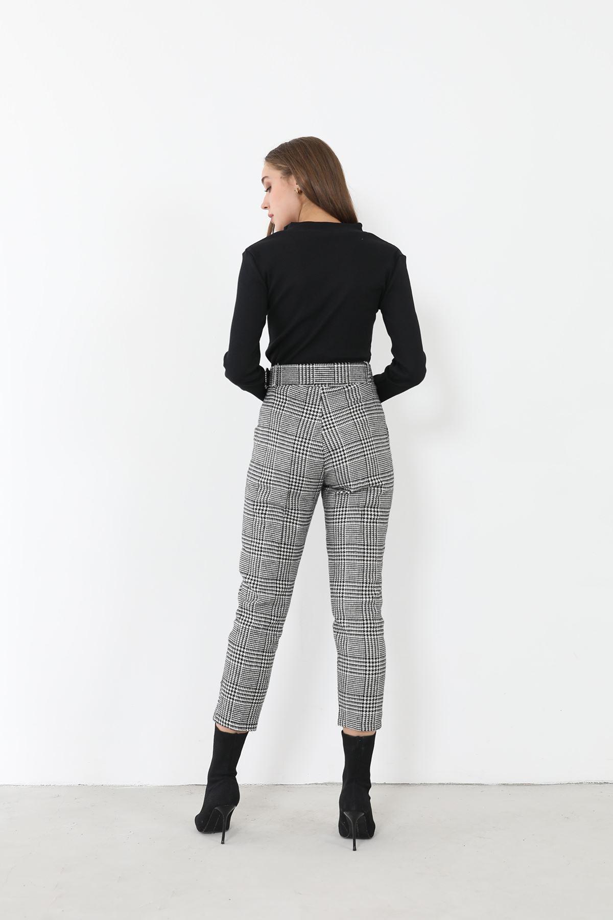 Kaşe Pantolon-Kazayağı