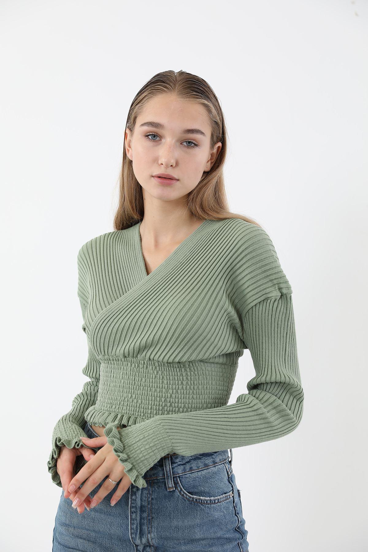 Gipeli Triko Bluz-Mint