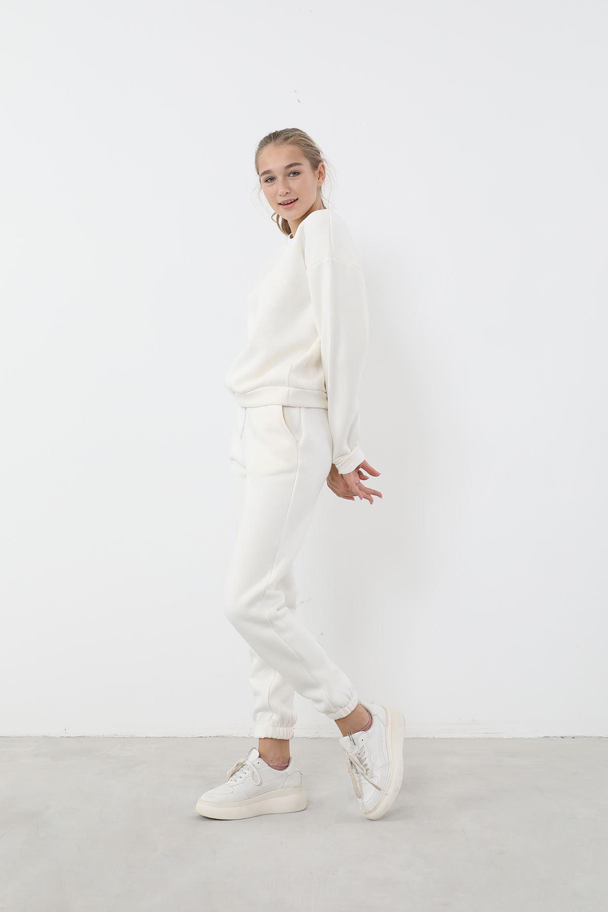 Eşofman Takım-Beyaz